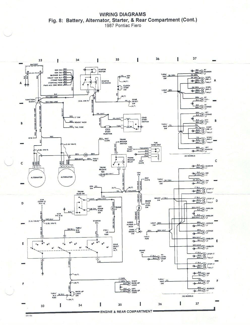 fine fiero backup light wiring bmw 330xi fuse diagram 07 f150 transmission  diagram toyota tundra electrical