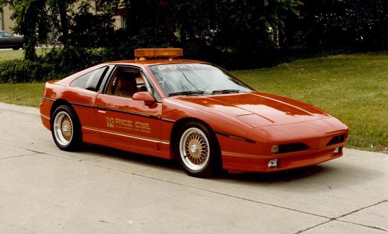 Pennock S Fiero Forum Red Turbo Ppg Pace Car Prototype Retreived