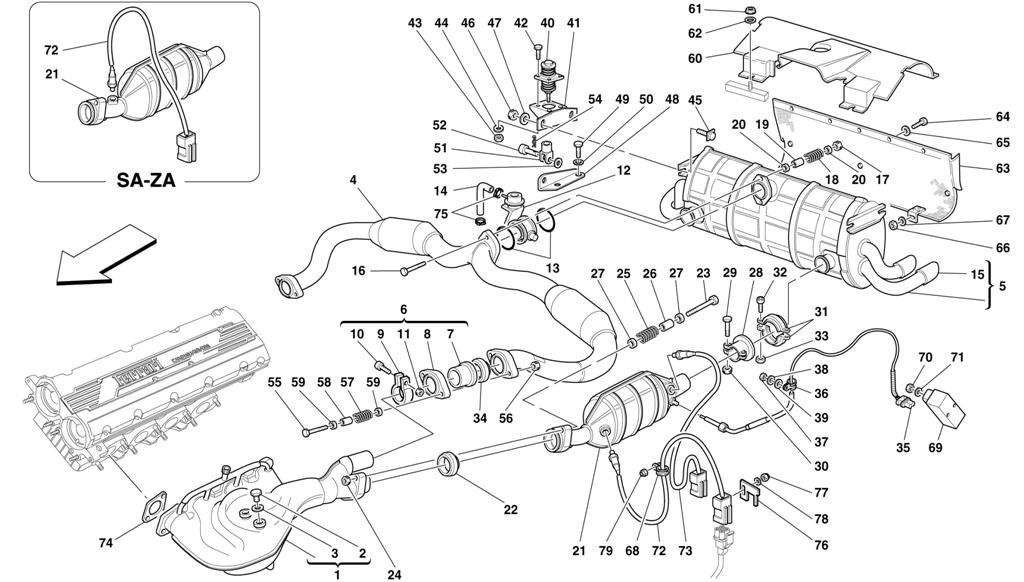 fiero exhaust diagram   21 wiring diagram images