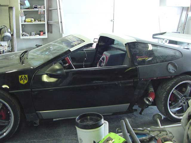 I Wouldnt Recomed It Too Much Work And From What Remember Think The Dirty Rat Fiero Targa Top Leaked Heres A Few Pics Of Car