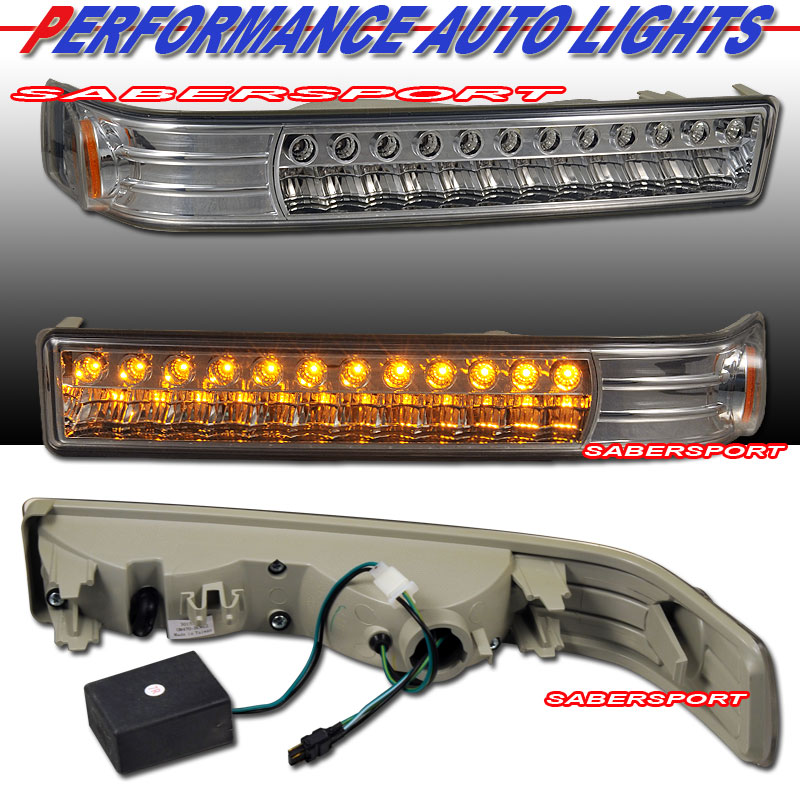 While Researching Lighting Options I Found Thes Chevy S10 Truck Led Turn Signals Us 109 Pr They Might Fit If The Tail End Is Cut Off