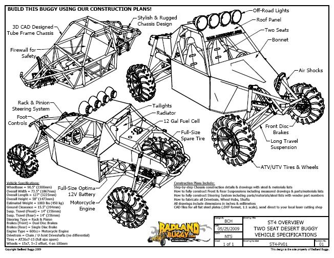 Badlandbuggy   plans sabretooth on polaris sportsman wiring diagram