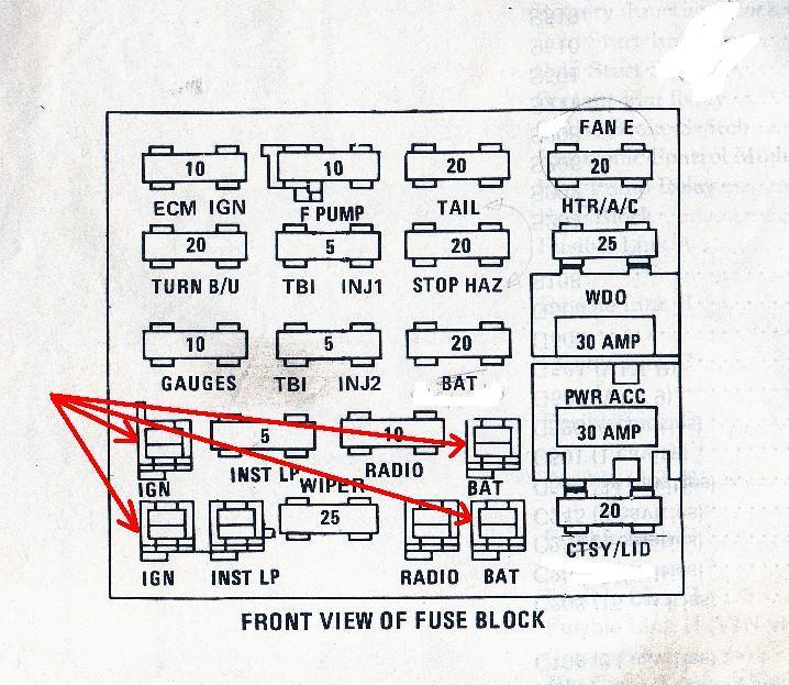 gray connctor & blue connector - pennock's fiero forum  pennock's fiero forum