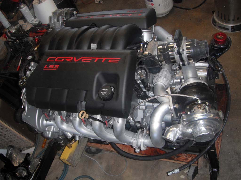 Resize Wizard on Corvette Ls3 Engine Covers