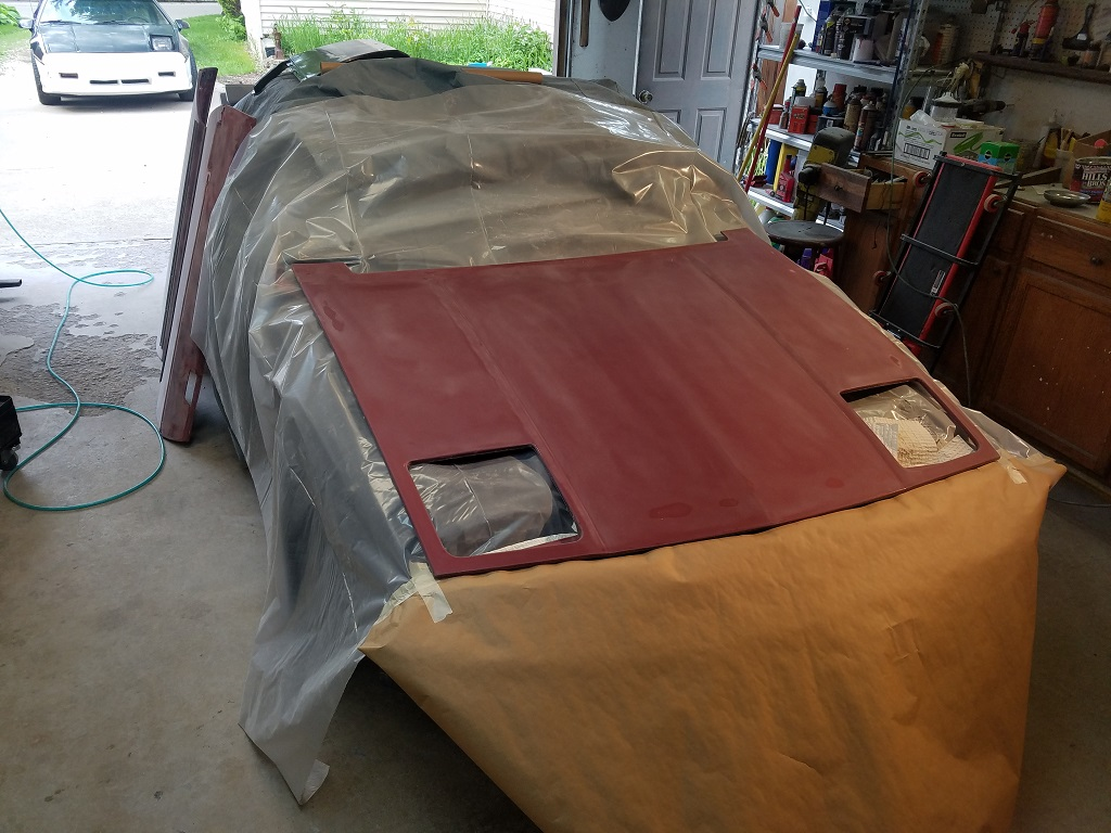 1988 Fiero GT Medium Red Metallic Paint Job Maybe HOK Brandy