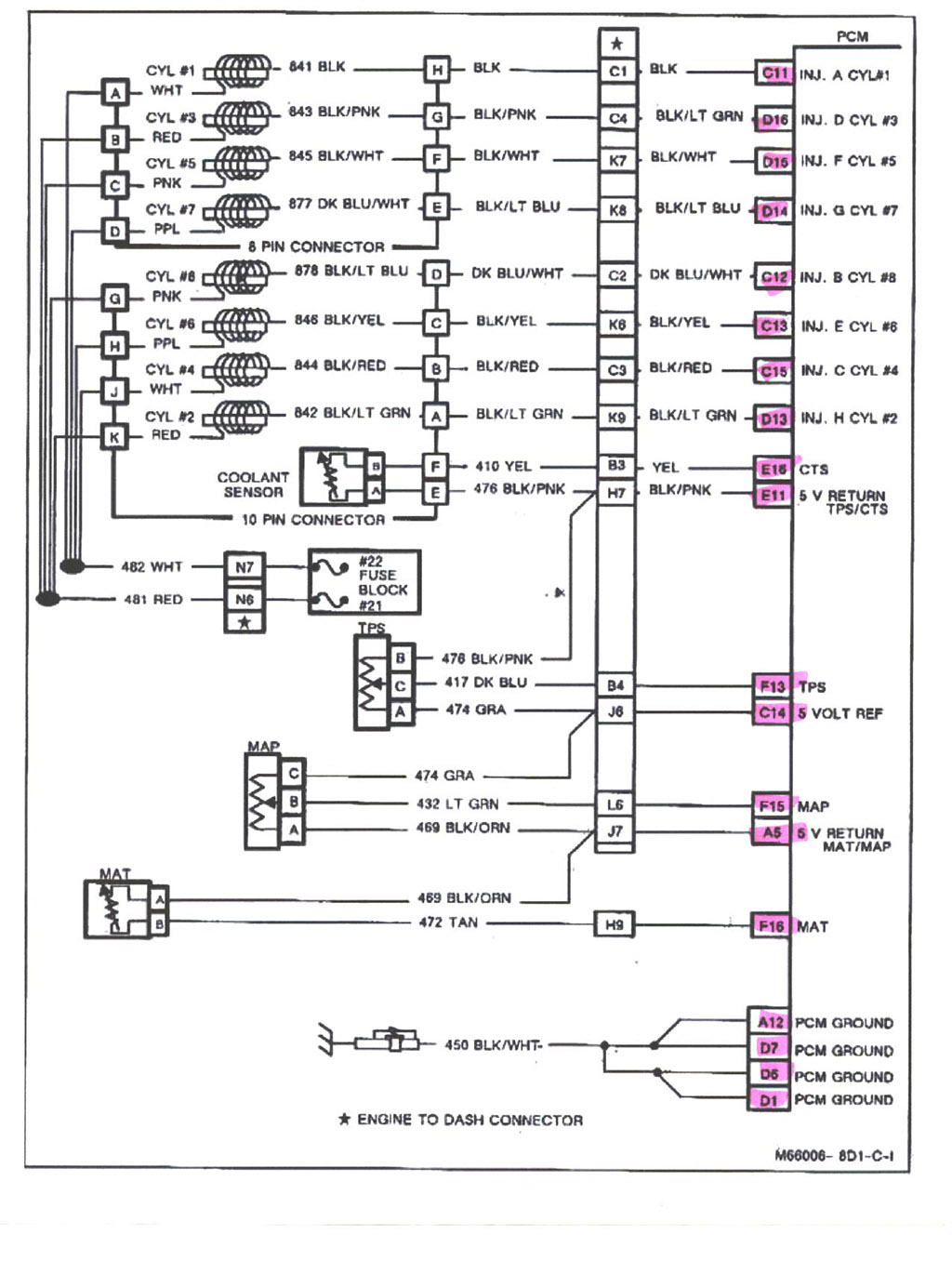 Check The Pcm Power Relay And Fuses 34 And 101 On The Fuse Box Let Me