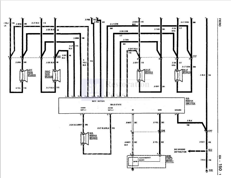 fiero subwoofer wiring diagram  wall clock wiring diagram