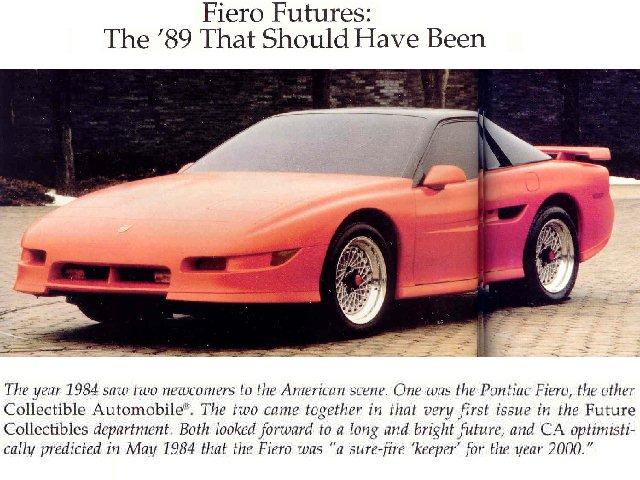 1990 Fiero