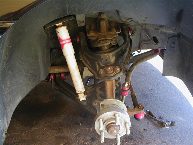 84-87Corvette Spindle Brake Swap C5 C6 Corvette conversion 12mm spindle bolts