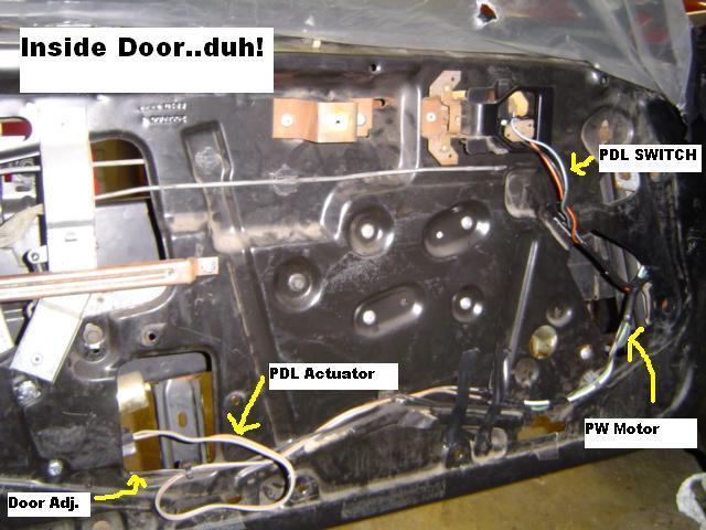fiero wiring connector door power lock window harness pennock s    fiero    forum  power lock window harness pennock s    fiero    forum