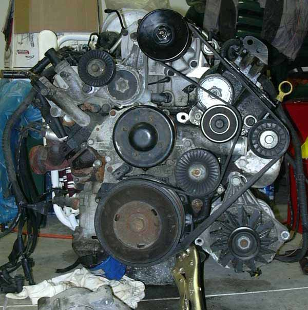 how to water pump replacement gm 3800 v6 change install