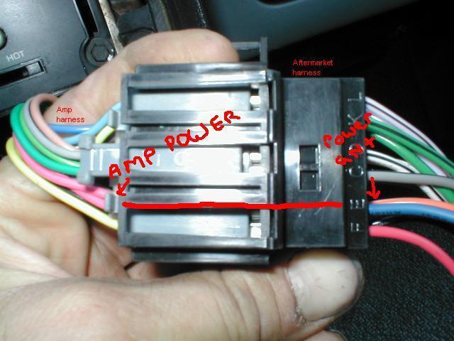 Pennock's Fiero Forum - Definative factory amp install when