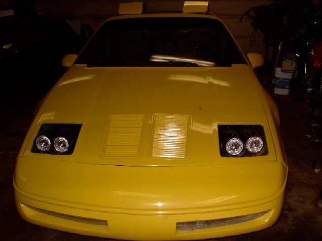 pennock 39 s fiero forum my new headlight mod what do you. Black Bedroom Furniture Sets. Home Design Ideas