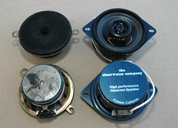 clearwater audio replacement headrest speakers pennock s fiero forum rh fiero nl 1990 Miata Headrest Speakers Auto Headrest Speakers