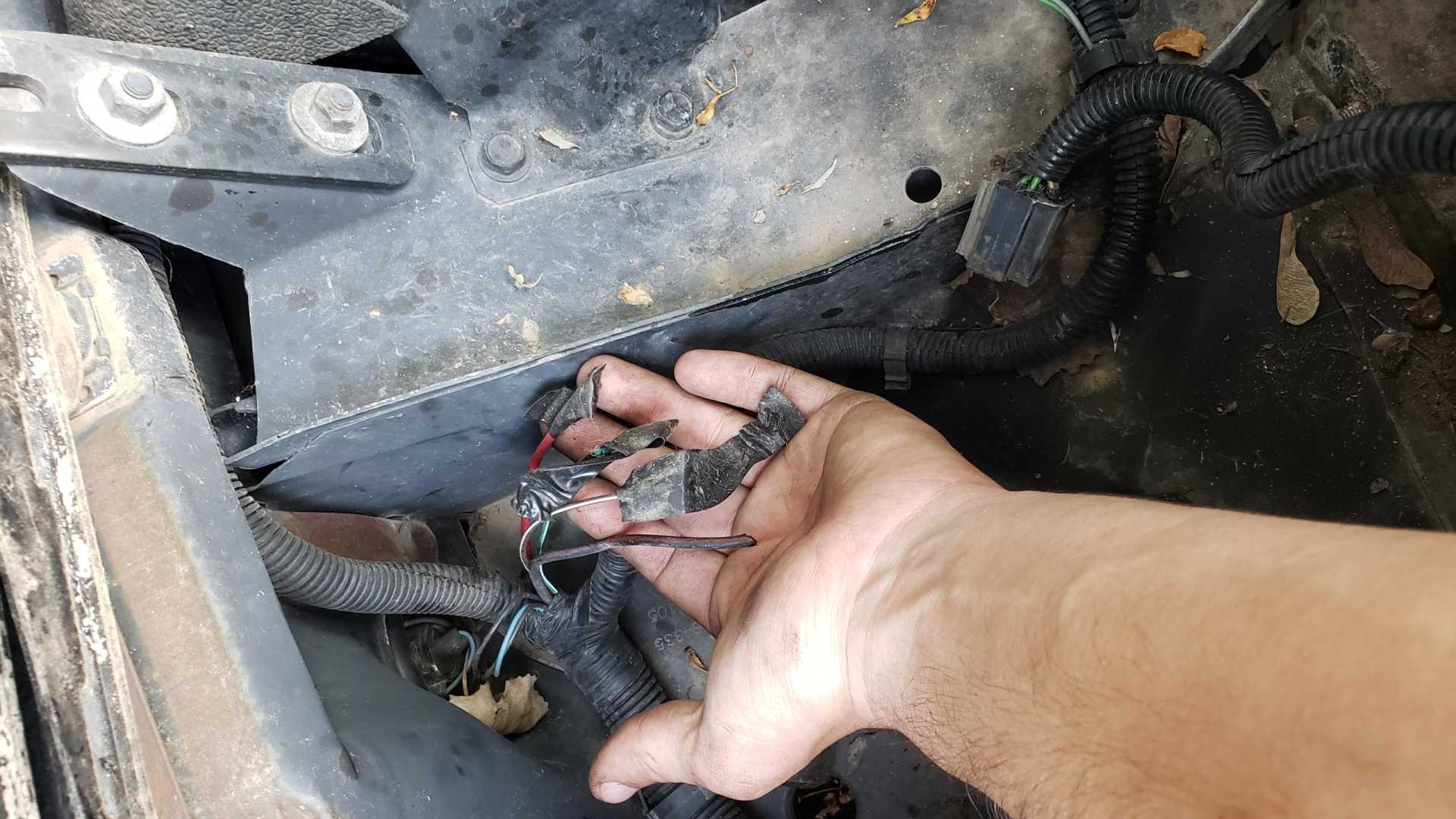 88 Radiator Fan Relay Wiring